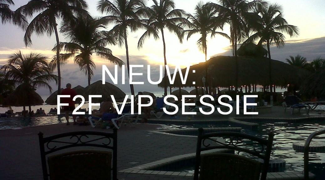 F2F VIP sessie Dynamics NAV